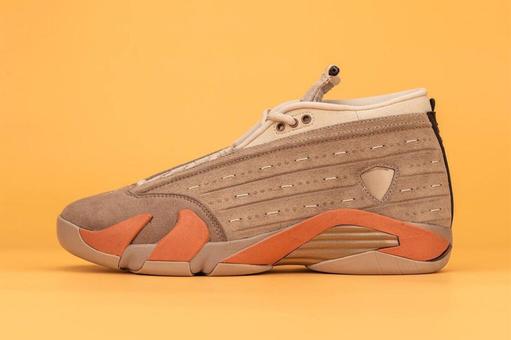 """upcoming-air-jordan-14-low-""""sepia-stone""""-is-a-clot-collaboration"""