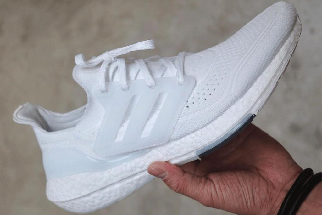"""the-adidas-ultra-boost-2021-""""footwear-white""""-receives-an-iconic-tooling"""