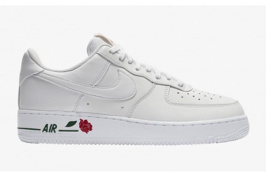 """the-nike-air-force-1-low-""""rose""""-combines-with-classic-white"""