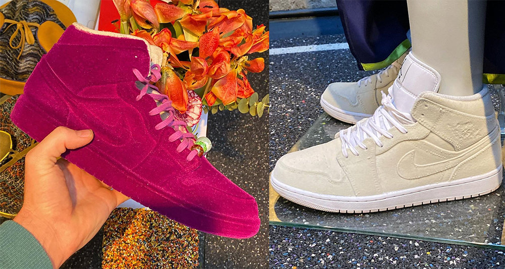 """pigalle-teases-collaborative-air-jordan-1-mid-""""velvet""""-collection-for-fw21"""