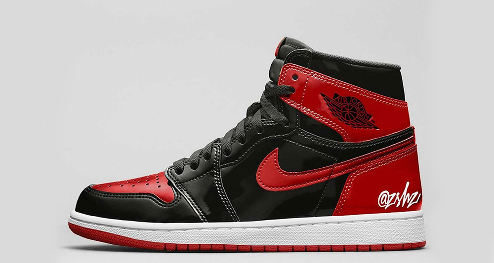 """the-air-jordan-1-""""banned""""-is-releasing-with-a-patent-leather-finish"""