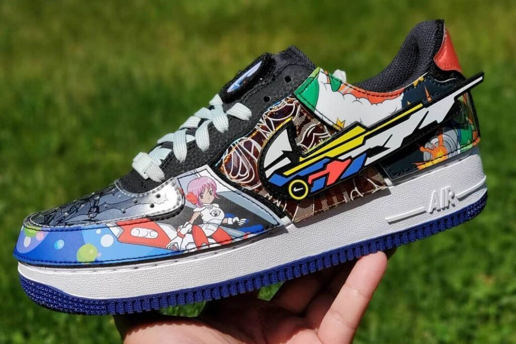 """a-unique-nike-air-force-1/1-""""nike-and-the-mighty-swooshers""""-appears-featuring-velcro-patches"""