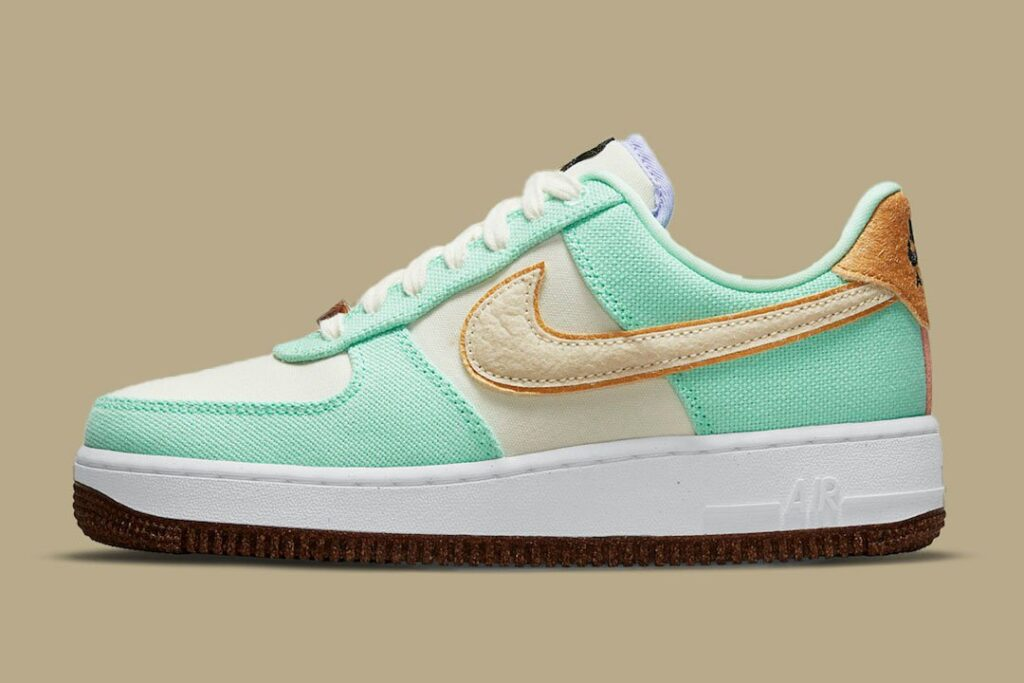 """another-nike-air-force-1-low-in-the-""""pineapple""""-series"""