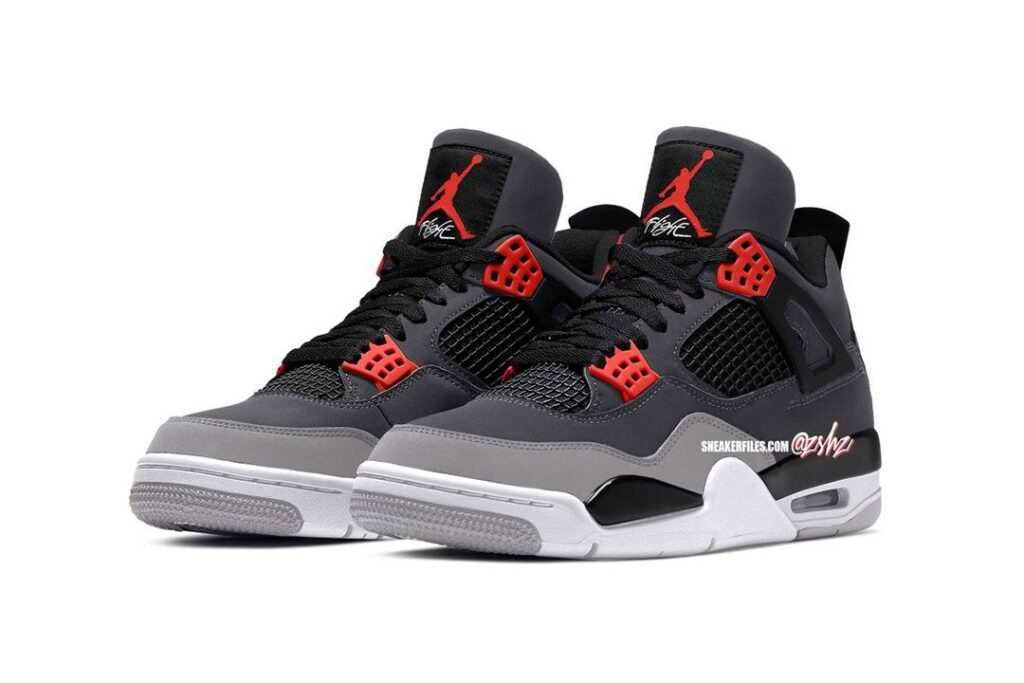 """the-upcoming-air-jordan-4-in-the-""""infrared""""-colorway"""