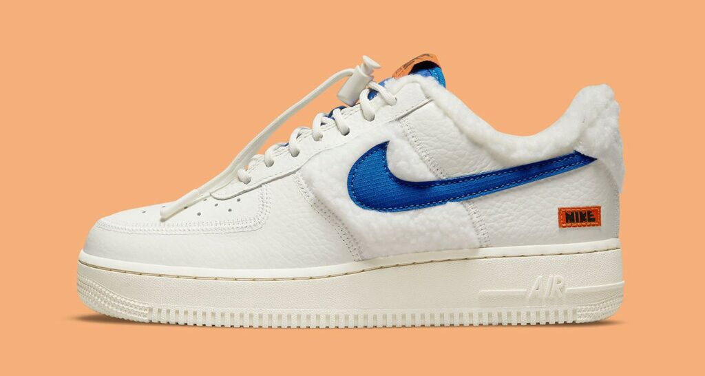"""nike's-cozy-air-force-1-low-""""sherpa-fleece""""-will-keep-you-warm-this-winter"""