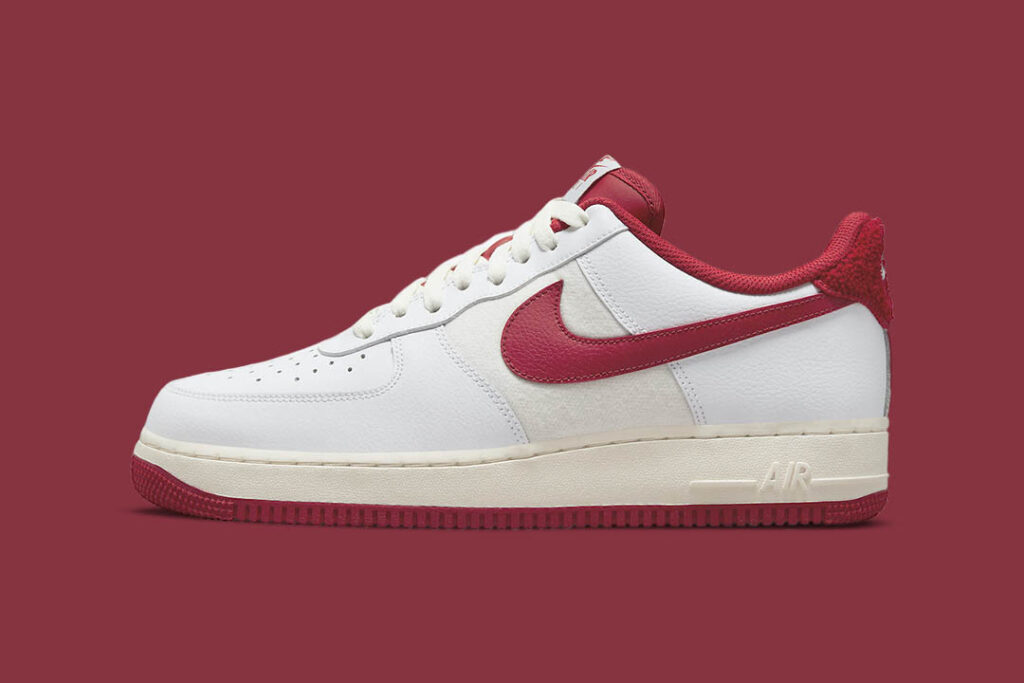 """the-nike-air-force-1-'07-lv8-gets-a-""""gym-red""""-revamp"""