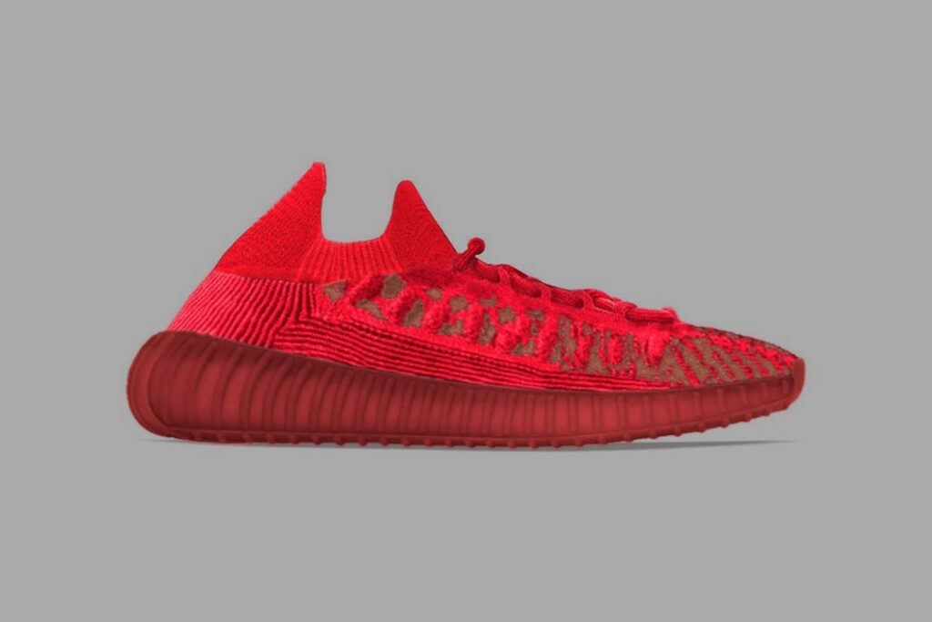 """the-adidas-yeezy-350-v2-cmpct-""""slate-red""""-is-on-its-way-in-2022"""